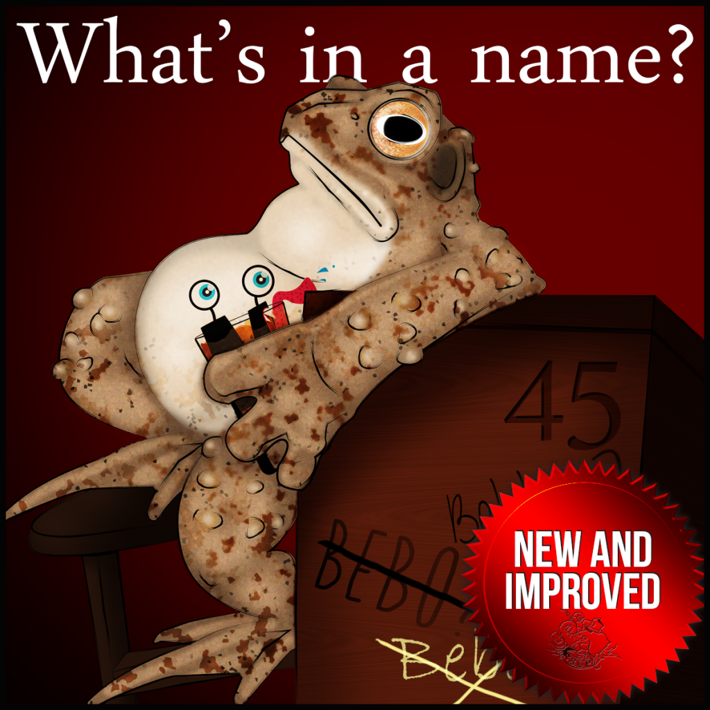 Episode 45: What's in a Name? – The Bebbo